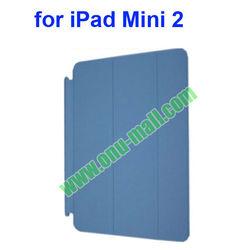 Newest Ultrathin Three Folio Wake Up Leather Smart Cover for iPad Mini 2