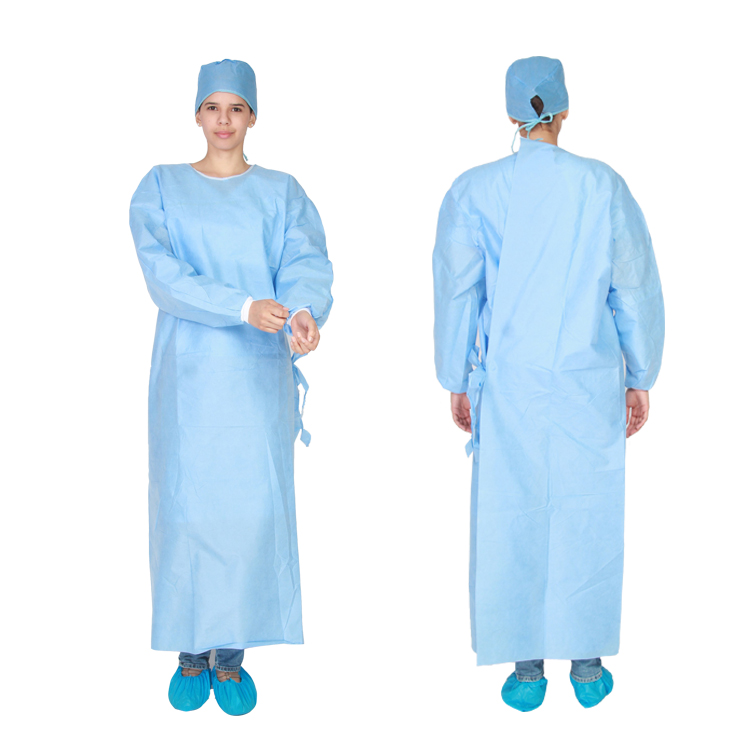 Cheap Sterile Hospital Disposable Medical Doctor Gowns - Buy Medical ...