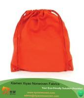 Promotion drawstring backpack wholesale cotton fabric drawstring bag