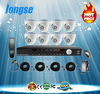 LONGSE 8 Channel HD-AHD DVR & Camera Kits work with 8 AHD dome cameras and LS-AHD2108U DVR MODEL: AHD-2108UB10