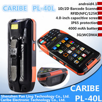 CARIBE PL-40L AU130 Cheap Andriod 3g smart reader mobile phone with hf rfid reader