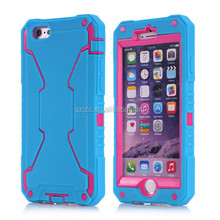 hight quality products China manufacturer cell phone case for iPhone 6,silicon+PC for iPhone 6 case