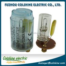 4-65W AC220V-240V FlatBlub/SharpBulb fluorescent tube starters