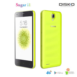 5 inch big screen new arrival original Disko Sugar I1 dual cell phone 32GB brand android phone