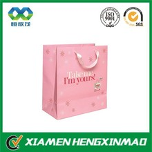 Customized art paper bags with logo