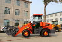 China cheap tractor type mini radlader hoflader Xinchai CE loader