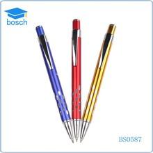 Cheap ballpoint pen refill metal ball pen for promotion Metal Click Pen