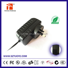 24W series Christmas tree power supply 12v 1a / 12v 2a with UL/CUL GS CE SAA FCC approved