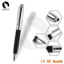 SHIBELL leather ballpoint pen metal engraving logo ball pen