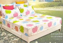cute hotel bed cover/ bright color hotel bed cover