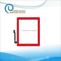 colorful touch screen digitizer for iPad 3 repair parts