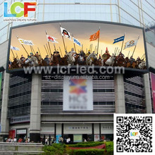 P25 1800*-400 iron cabinet outdoorhigh stage video wall outdoor led moving sign china led supplier