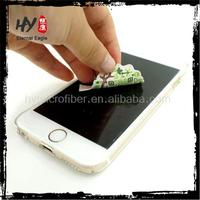 Hot selling sticky phone screen cleaner, sticky screen cleaner for mobile phone, sticker screen cleaner