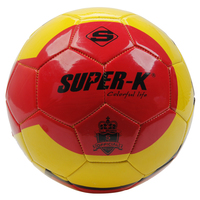 China Manufacture Mesuca Official Size 5# Machine Sewn PVC Soccer Football Ball SAB20256