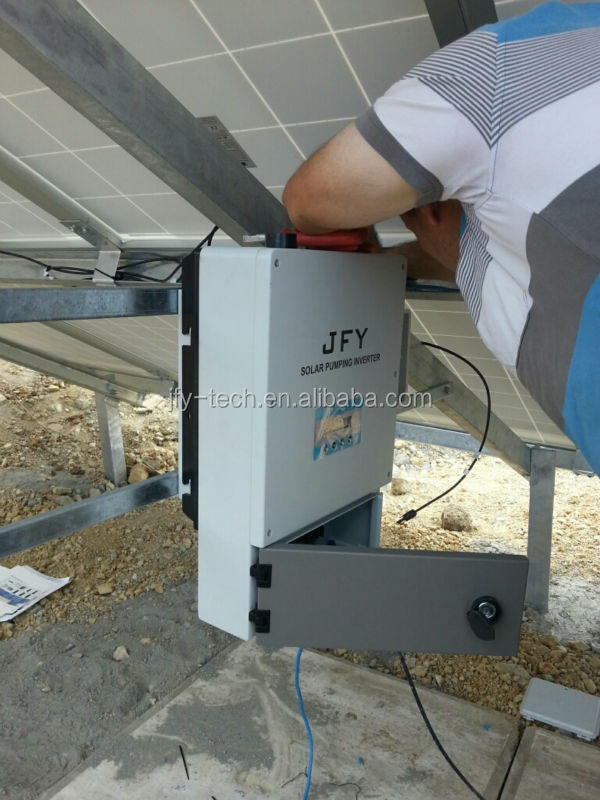 5.5 solar pumping system reference in Turkey