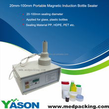 Portable Heat Induction Bottle Sealer for Medicine Aluminum Bottle Caps (seal size: 0.8inch-3.94inch)
