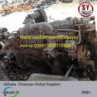 used engines for sale in japan isu zu 6RB1
