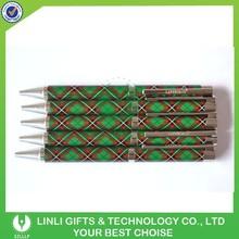 Copper Material Made Advertising Metal Tartan Pen