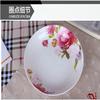 high quality porcelain oval plate forrestaurant