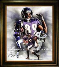 Baltimore Ravens 89 NFL canvas painting