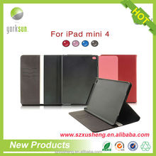 tablet cover for ipad mini 4 leather case