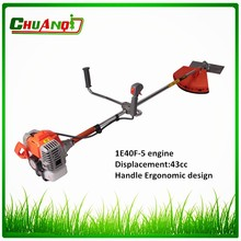 Double stroke brush cutting parts grass cutter machine
