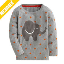 Soft and breathable 95% polyester 5% spandex unisex children t shirt