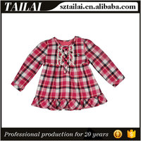 Apparel supplier Latest design Fashion Kids girls skirt and top