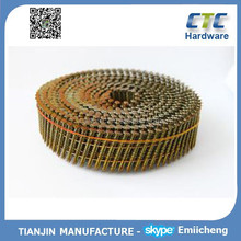 Hot! - 15 Degree Wire Welded Pallet Coil Nails /Jumbo Coil /1000-3000PCS Per Coil