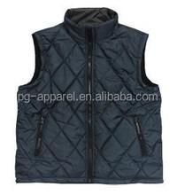 2015 Mens padded coating vests and waistcoat