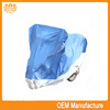Double colour 190t silver coated outerdoor bike cover at factory price