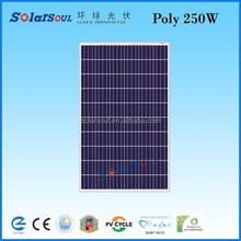 manufacturing companies of polycristalline solar panel 250 watt best solar cell price 6x6 inch