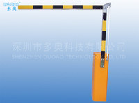 Custom Color Push Button 4s Boom Barrier Gate for Government AC110v 50Hz 60W 1500rmin
