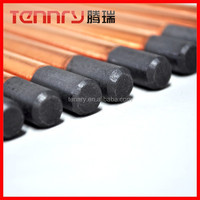 China Arc Air Gouging Carbon Rod For Cutting