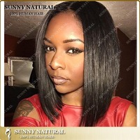 New Style Remy brazilian bob wig short fashion hair cuts style human hair full lace wig for black women