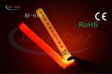 4.5*40cm multi color changing led foam led cheer foam stick