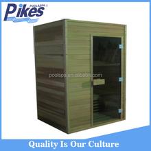 2015 new arrival finland spruce wood sauna room