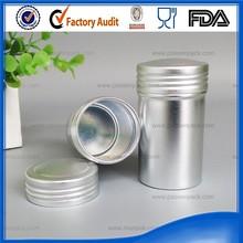 Cixi Aluminum round canister tin wholesale