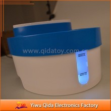eco-friendly ABS automatc circulating 3 in 1 led light pet water fountain