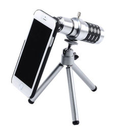 14X Optical Zoom Lens Camera Telescope Tripod Case Cover For Apple iPhone 6 Plus