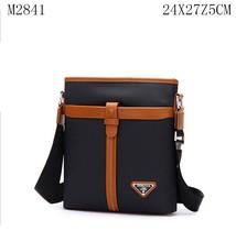 Nylon with PU Messenger men bag m2841