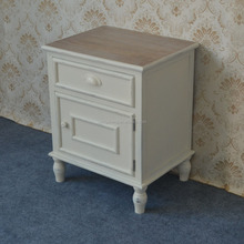 French country antique rustic recycle wooden bedside table handcrafted wholesale