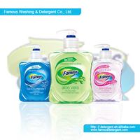 Famous 500ml liquid hand wash formula and liquid soap