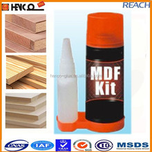MDF KIT high viscosity cyanoacrylate adhesive glue with accelerator