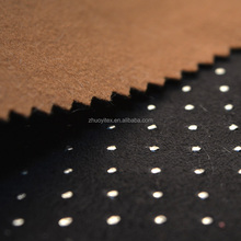 3d suede fabric new fashion cloth fabric fleece fabric suede textile
