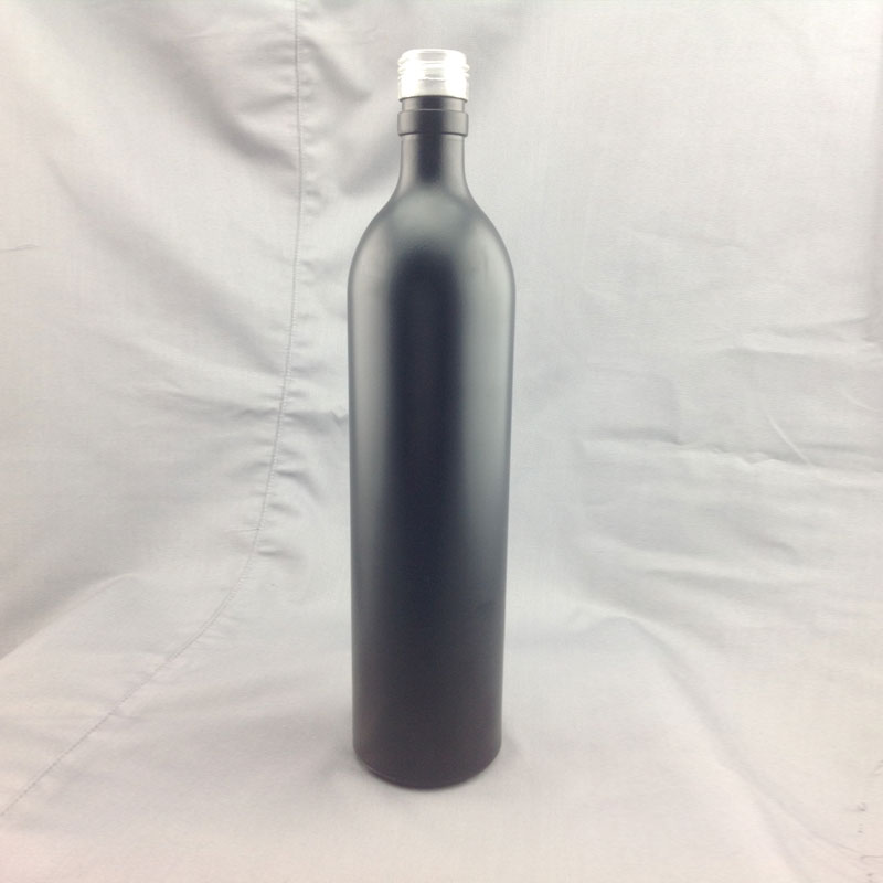 Hot selling empty colored glass wine bottles with screw for Where to buy colored wine bottles