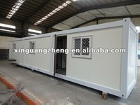Modern container house/prefab house//modular homes used as office, living room, dormitory and workshop
