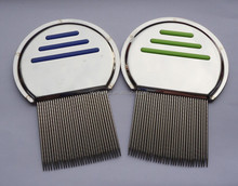Three lines stainless steel Lice Comb,