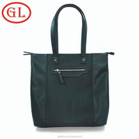 New style famous black brand tote men leather briefcase