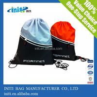 nylon polyester drawstring bag backpack /2015 Wholesale Top Quality nylon polyester drawstring bag